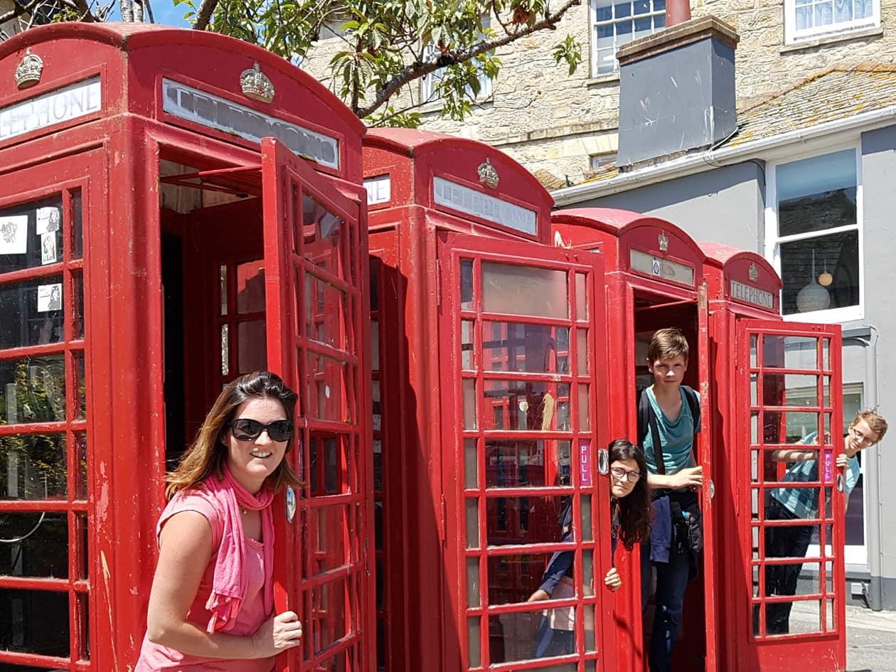 "Truro VISIT ""Phone box fun"""